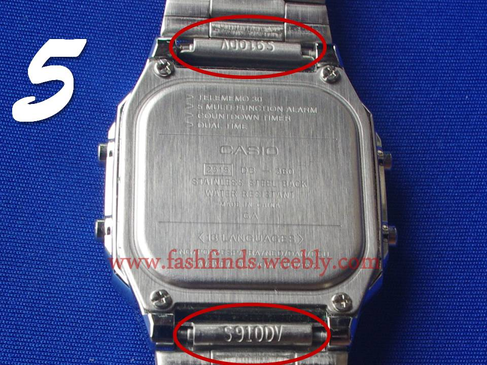 72bdc8cb2ff How to Identify a Fake Casio Watch - Original Casio Watch for Sale ...